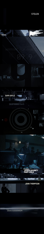 Stolen Title Sequence Still Frames