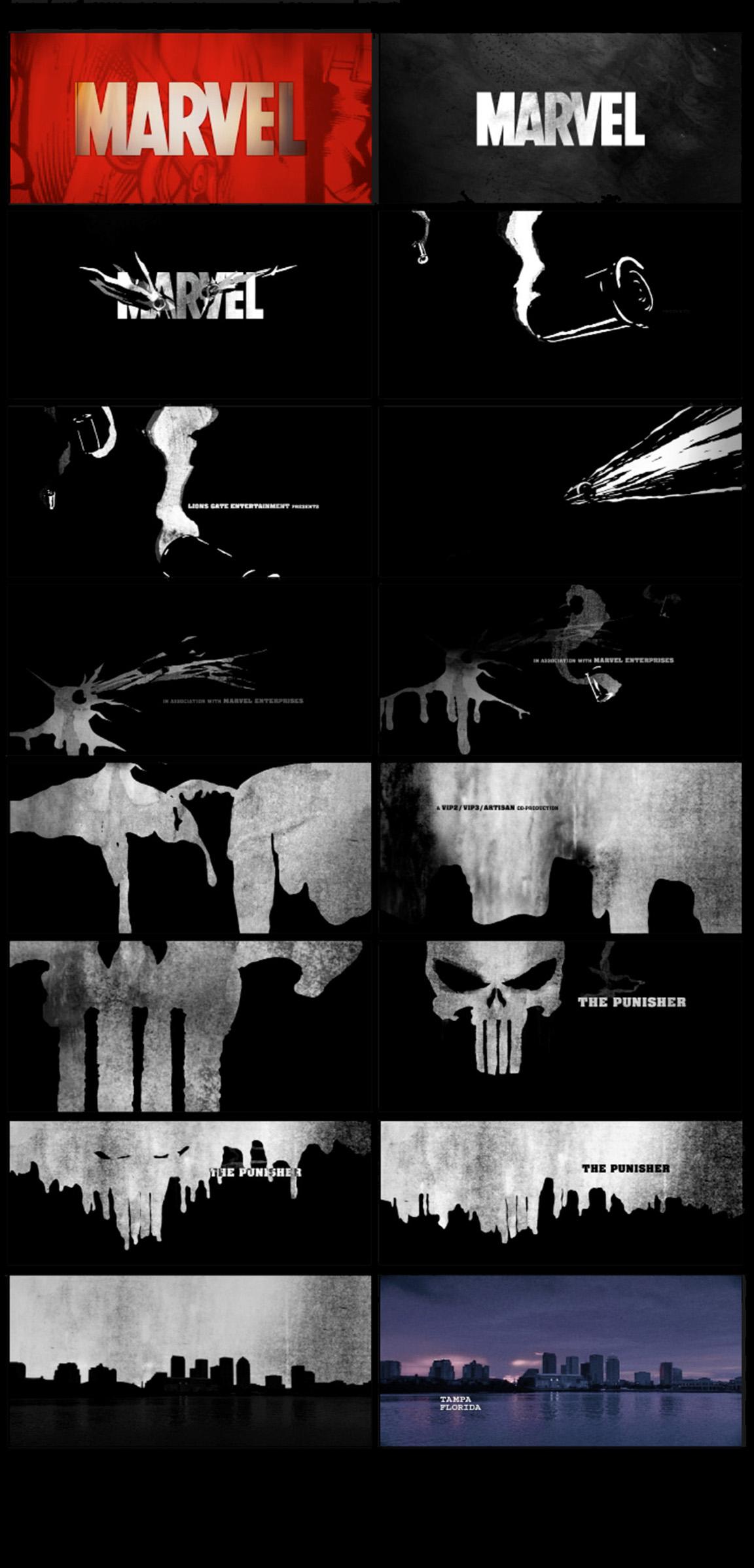 The Punisher Still Frames